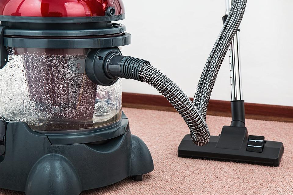 Vacuuming your carpet