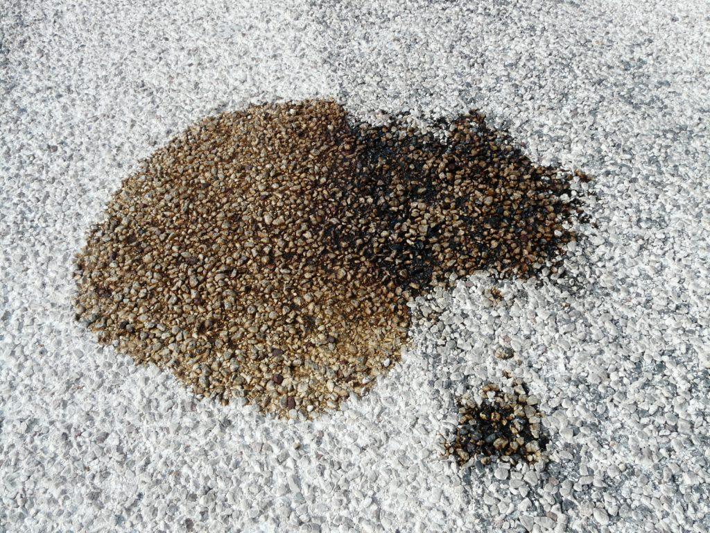 Spilled Liquid On Carpet